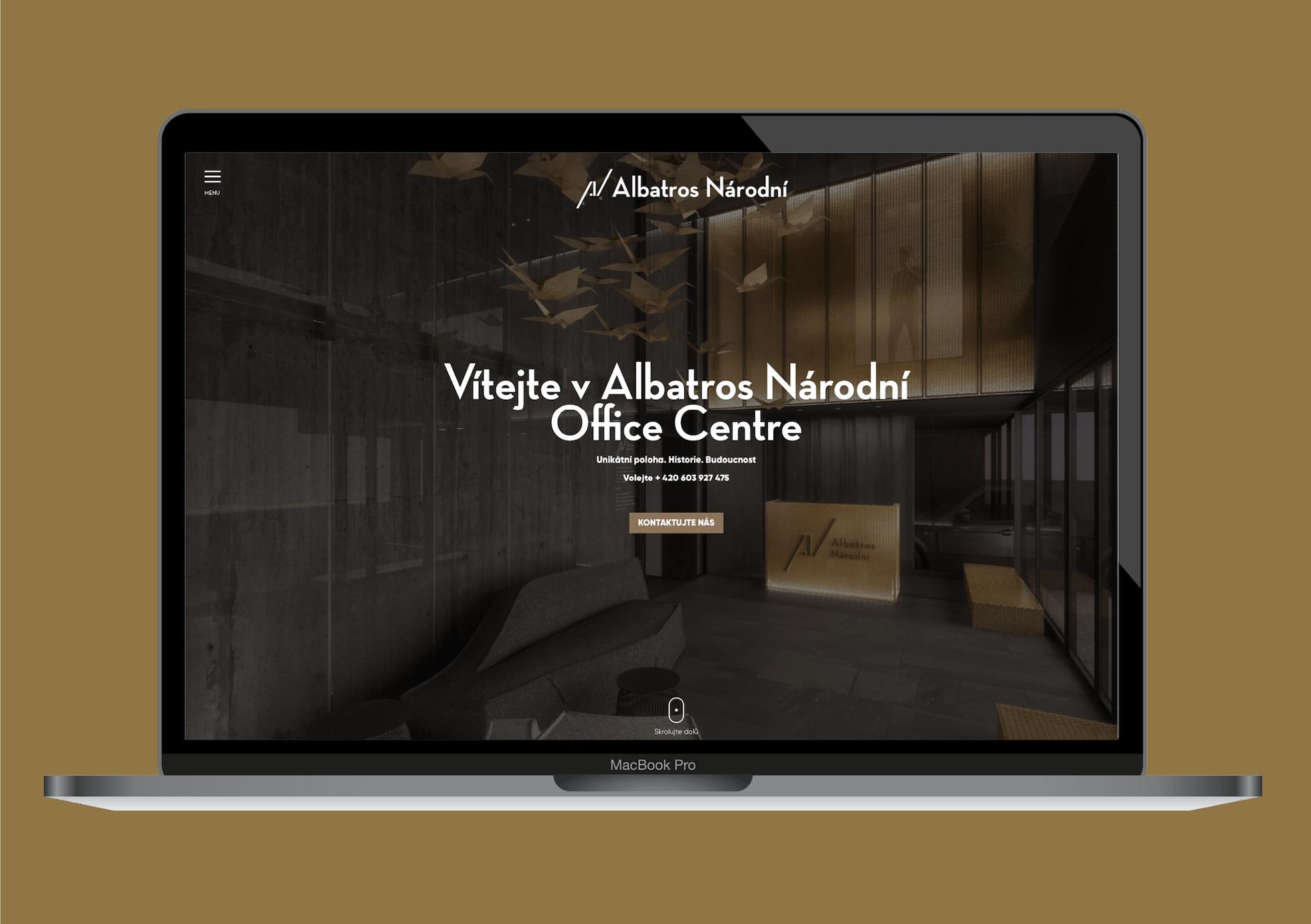 Albatros Narodni web