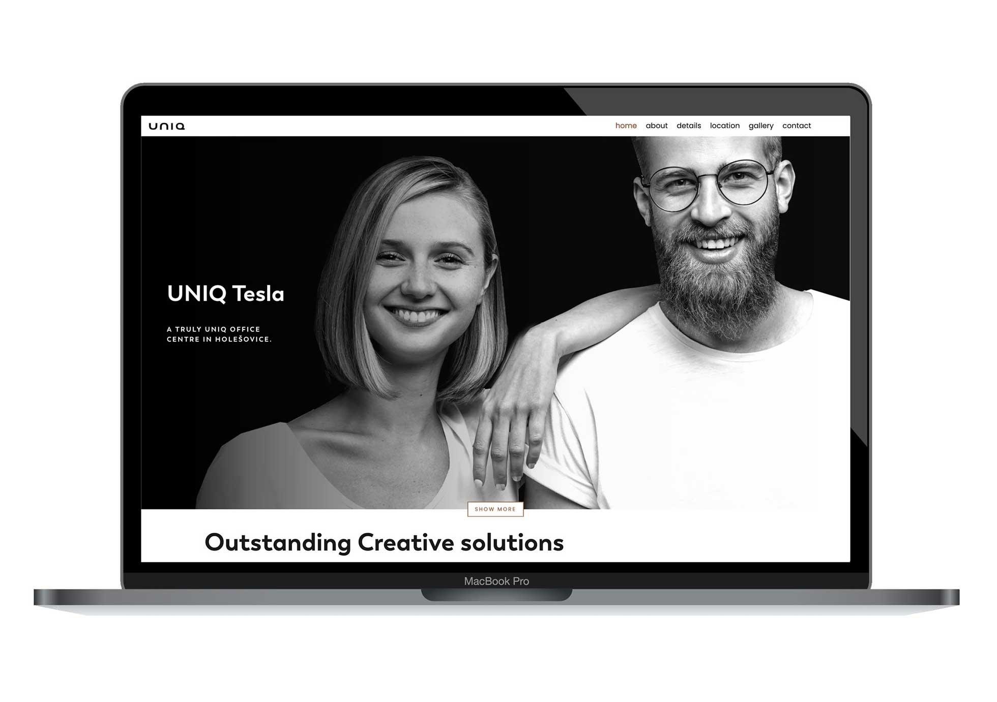 Uniq Tesla web