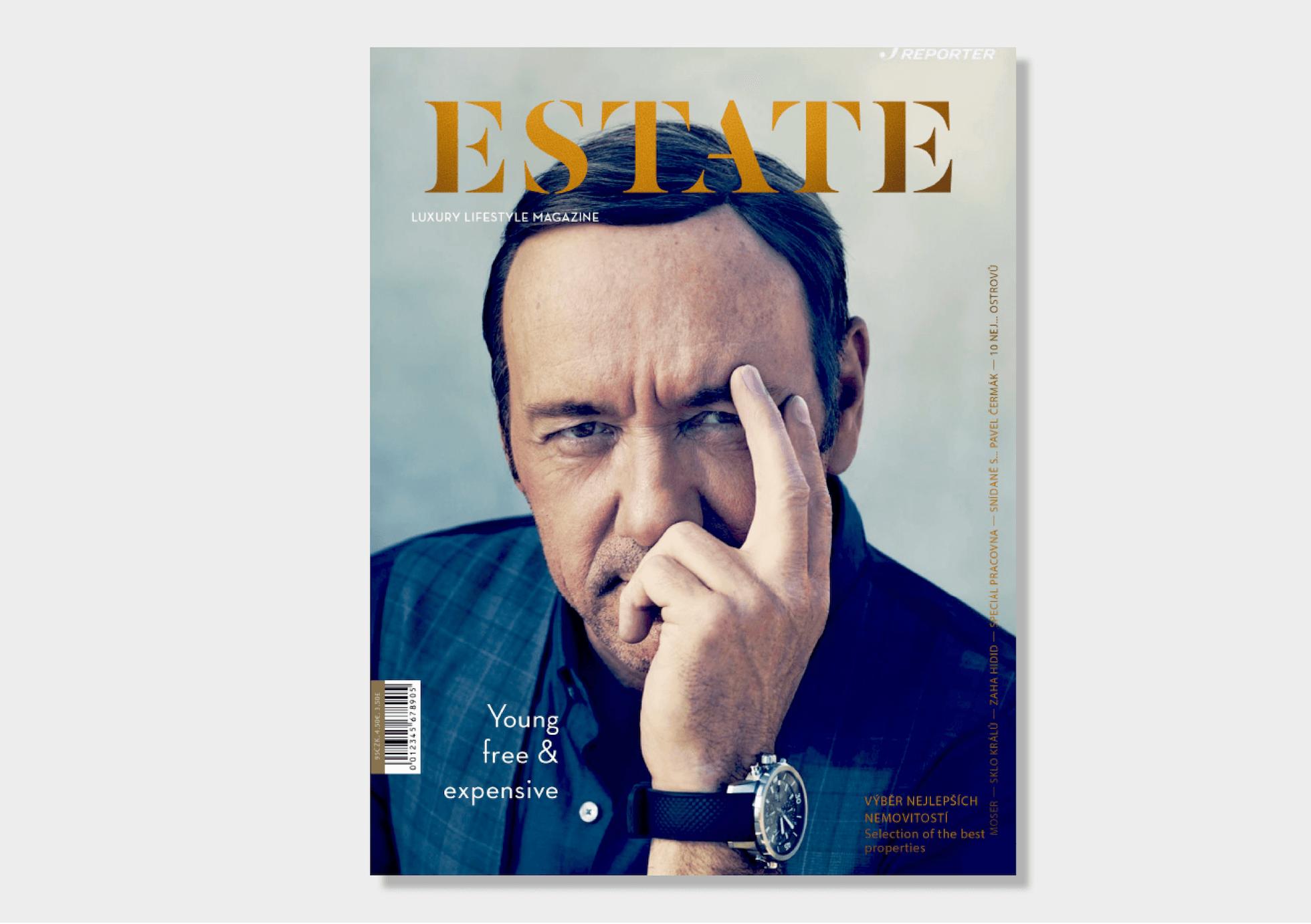 Estate magazine titulní strana