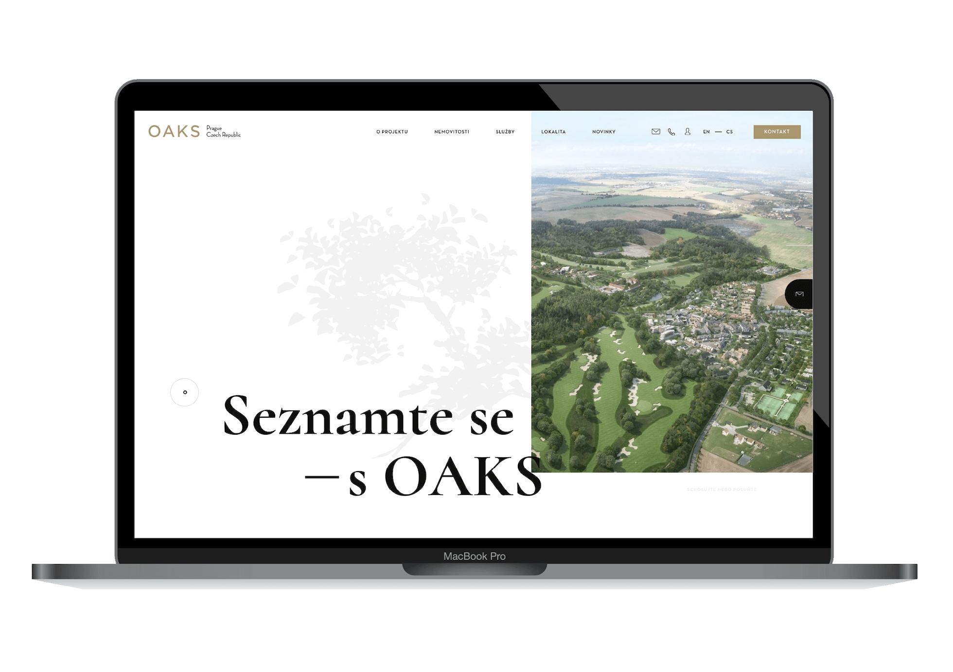 OAKS web