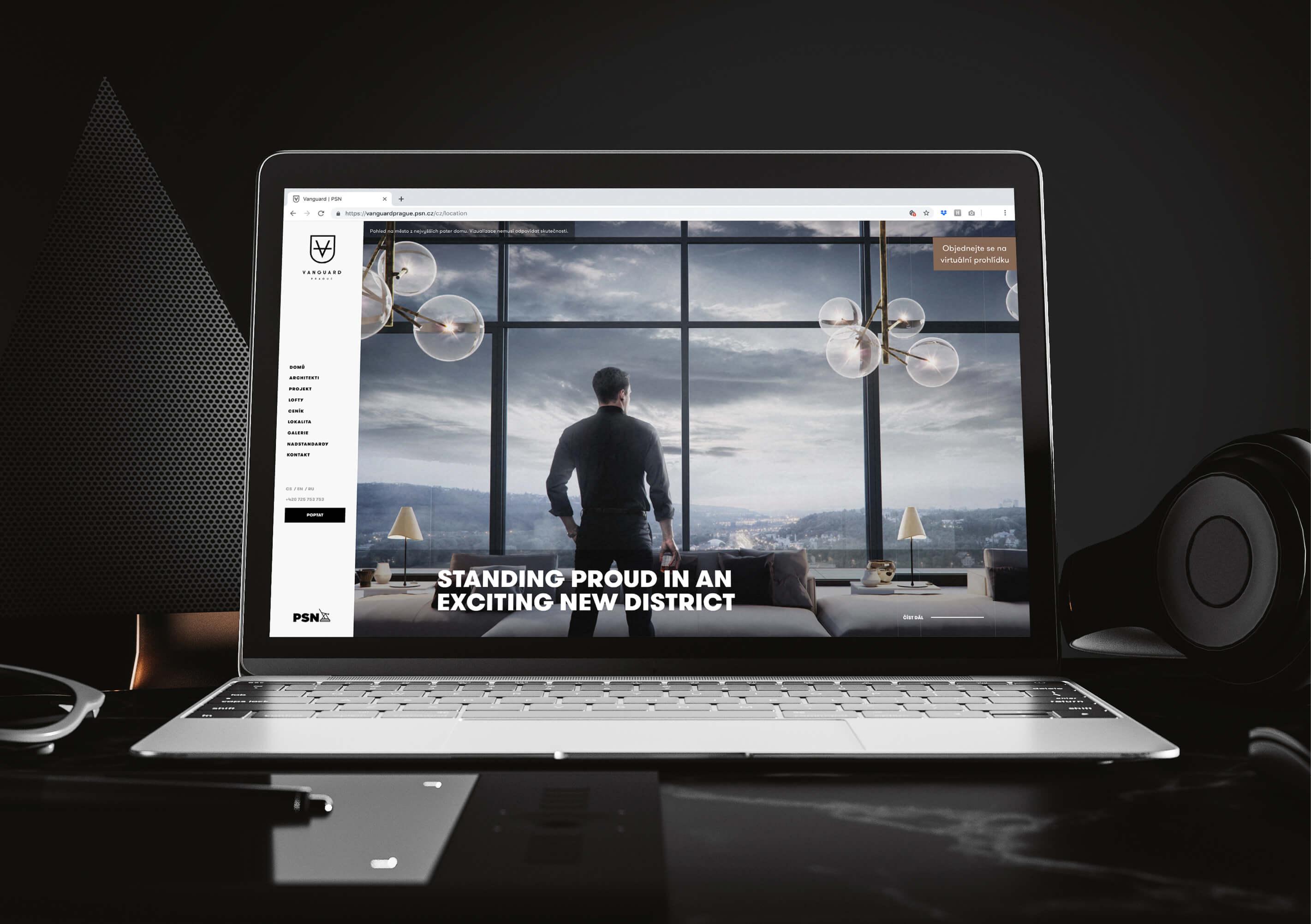 Residential Vanguard web