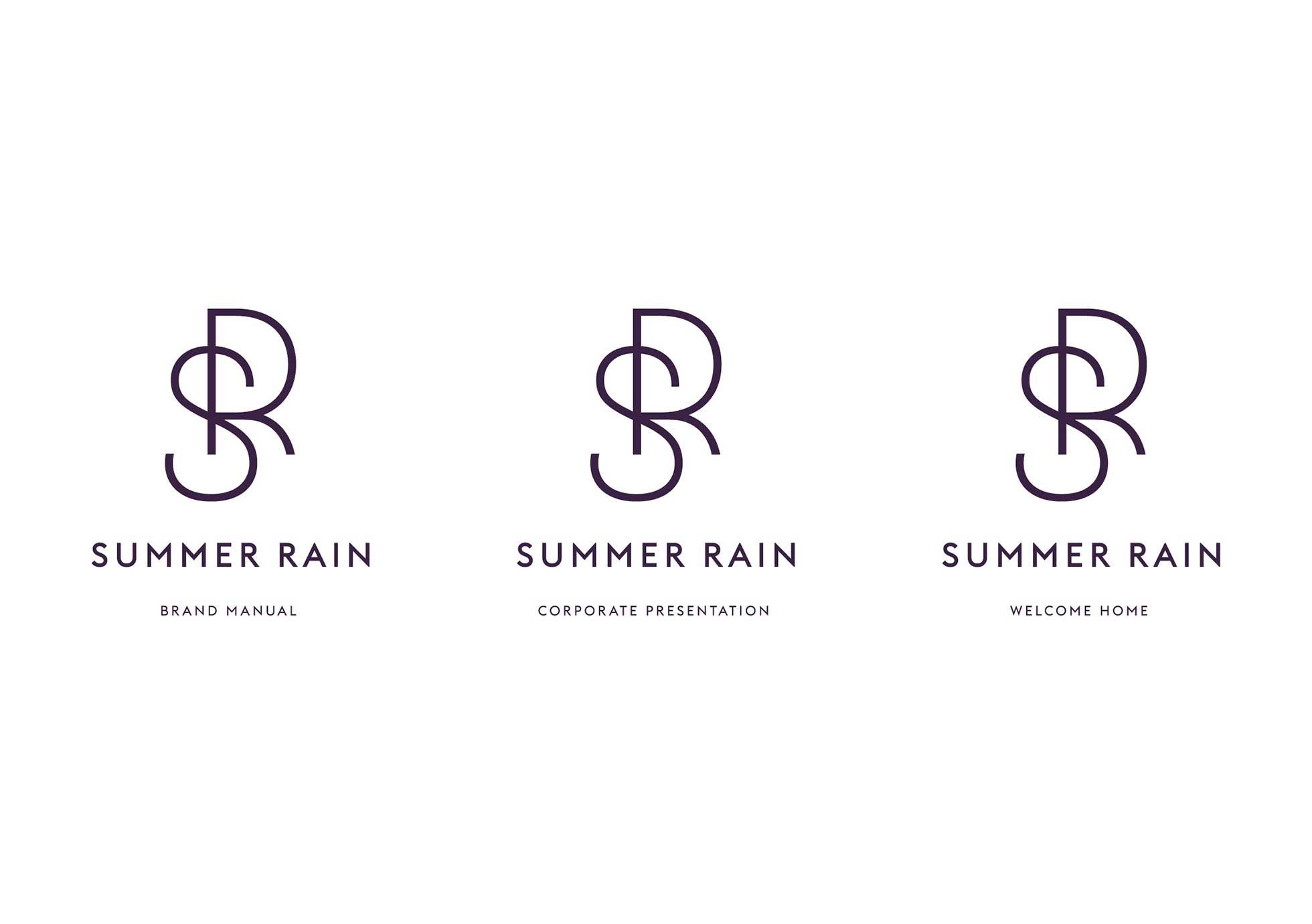 Summer rain logo