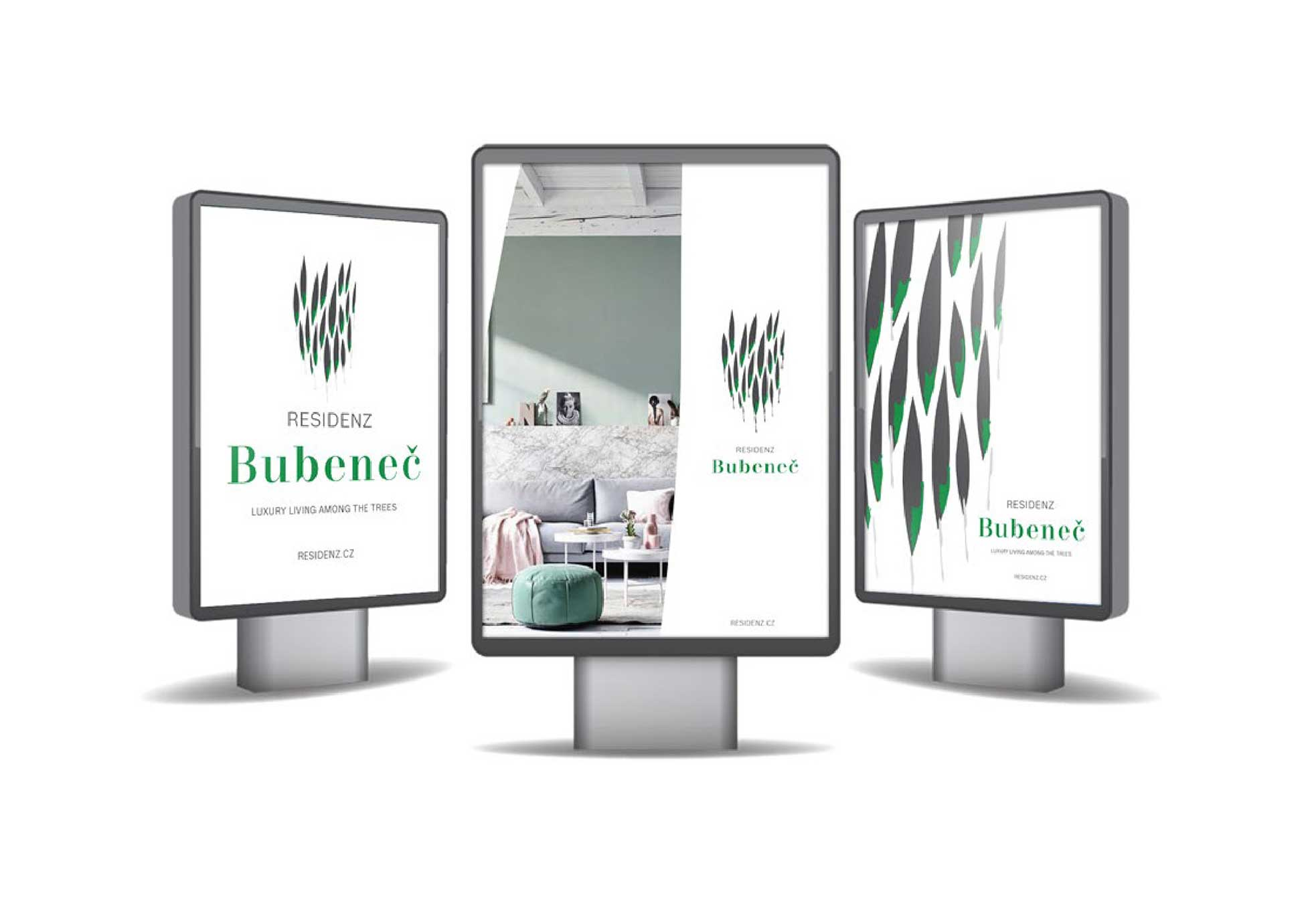 Rezidence Bubeneč billboard