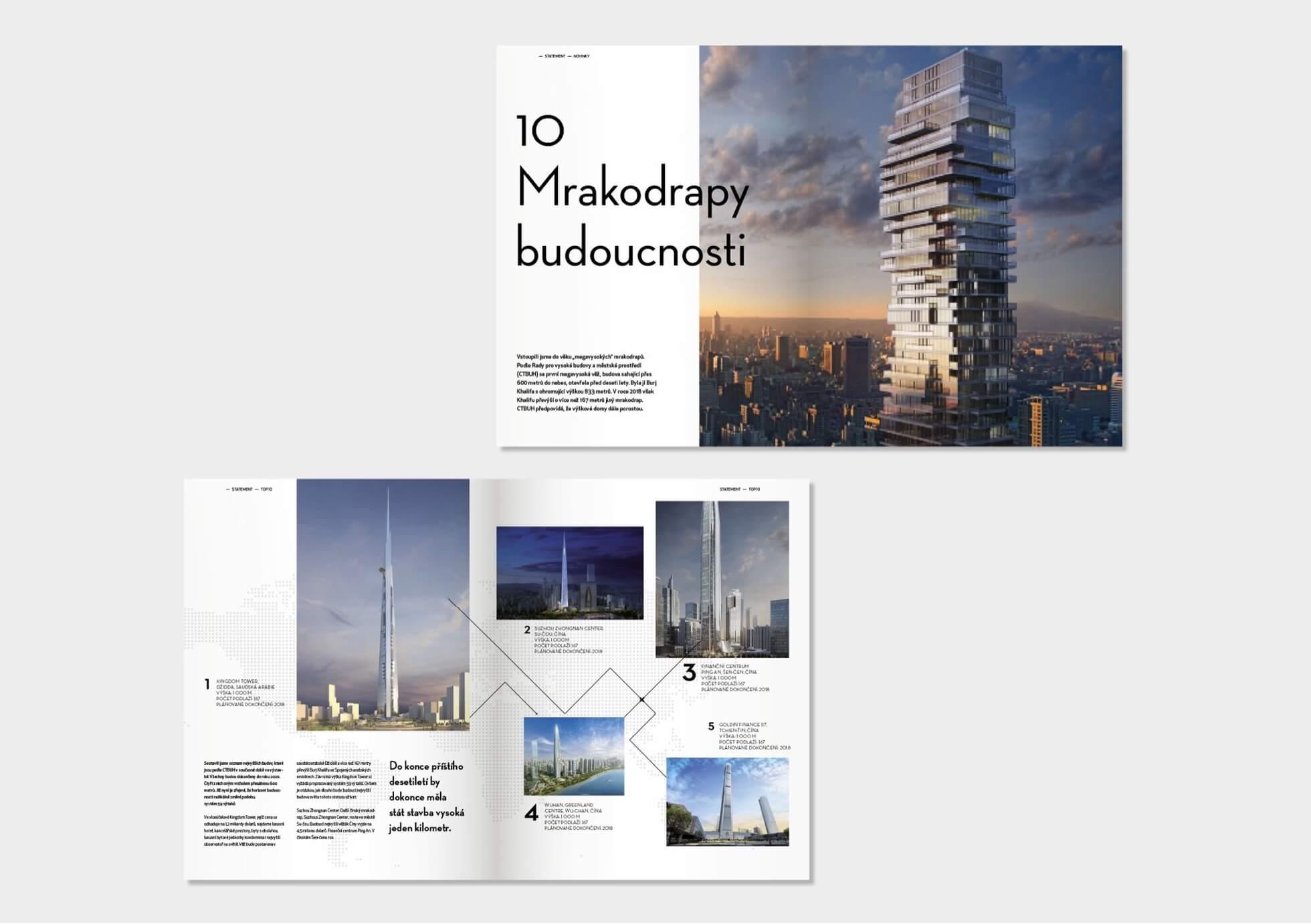 design for magazine