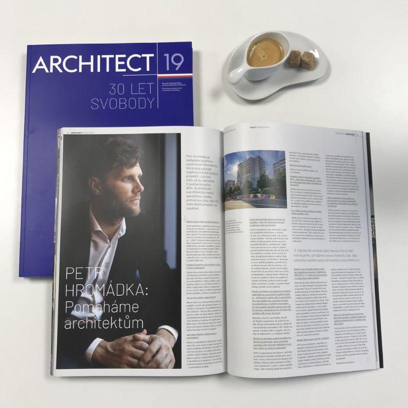 petr hromadka: pomahame architektum -uvod - forth